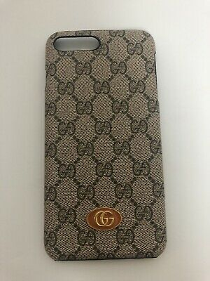 Gucci Case For Iphone 7 Plus 8 Plus With Logo