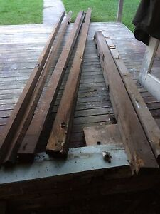 6 Hardwood Floor Joists 4x2 Timber 100x75 Recycled Used Tempe Marrickville Area Preview