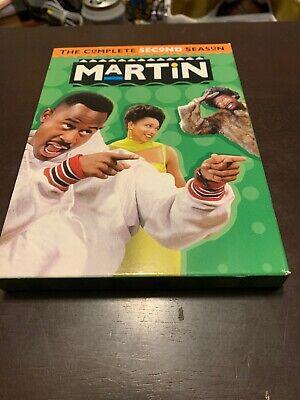 Martin: The Complete Second Season (DVD, 2007, 4-Disc Set)