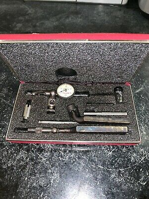 Starrett 711-f Last Word Dial Indicator With Case Machinist Tool Usa Made