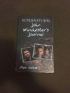 Supernatural - John Winchester's Journal Humbug Scrub Playford Area Preview