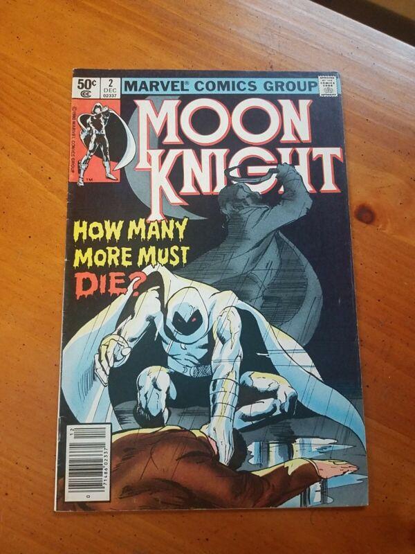 MOON KNIGHT # 2   (1980 Series)  (MARVEL) #2 NEWSSTAND  Comics Book