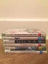6 Xbox 360 games Neutral Bay North Sydney Area Preview