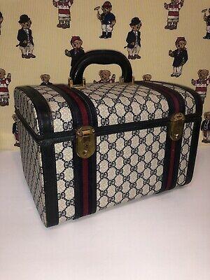 Vintage Gucci Train Case Doctor Bag Makeup case Hand Bag