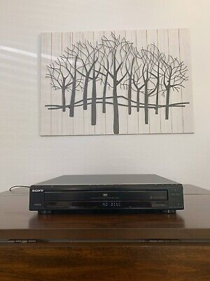 Sony DVP-NC800H 5 Disc CD / DVD Player Changer- NO REMOTE - Fully Tested & covid 19 (Sony 5 Disc Dvd Player coronavirus)