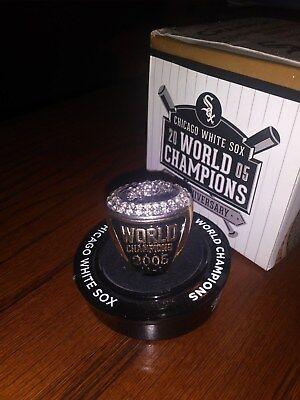 2015 Chicago White Sox World Series Ring Sga Stadium Game Day Giveaway Free Ship