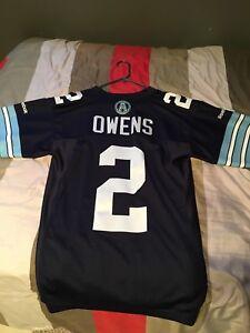 Toronto argonauts CFL jersey. Chad Owens