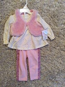 BRAND NEW BABY GIRLS OUTFIT SIZE 6/9 MONTHS