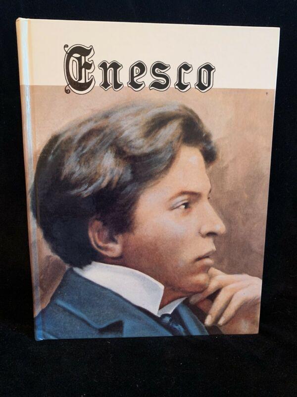 ENESCO  His Life and Times - by B. Kotlyarov - violin biography 1984 HB NEW