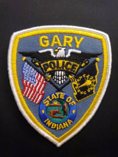 Vintage Gary Indiana Police Patch