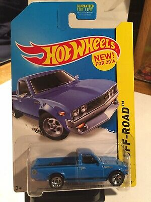 Hot Wheels Datsun 620 Pickup Truck Blue Kmart Exclusive.