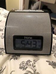 iHome iH11B iPod iPhone Sound Alarm Clock Dock Station Player - Black
