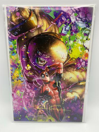 💥Classic Murder Signature Deadpool Dirty Thirty #1 Clayton Crain Art w/COA💥