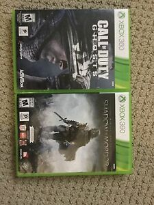 Call of Duty: Ghosts and Shadow of Mordor for Xbox 360