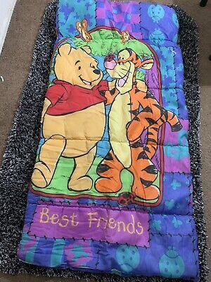 Disney Winnie the Pooh Childrens Sleeping Bag, Vintage Pooh Tigger, Best (Best Kids Sleeping Bag)