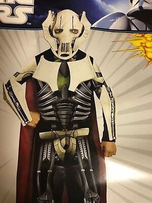 General Grievous Costume Kids Star Wars Halloween Dress Up Size Large