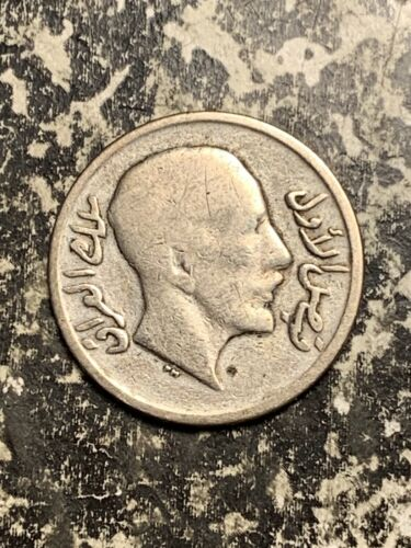 1933 Iraq 20 Fils Lot#Q4442 Silver!