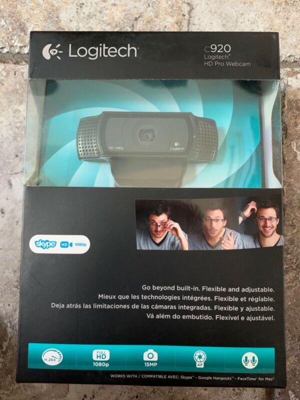 Logitech c920 HD Pro Webcam, Full HD 1080p, 15mp