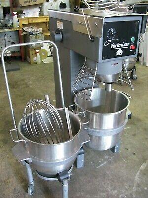 Varimixer W40 Commercial Mixer W Attachments Bowl