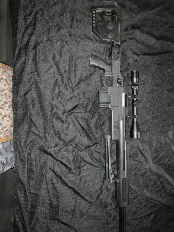 airsoft sniper rifle bolt action