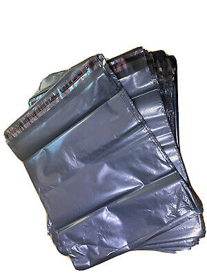 """100x 10x9"""" GREY STRONG MAILING BAGS PLASTIC POSTAL MAIL POSTAGE"""