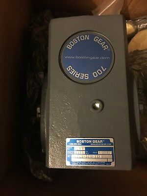 Boston Gear Right Angle Worm Gear Speed Reducer F726-60n-b5-g  Ratio 60