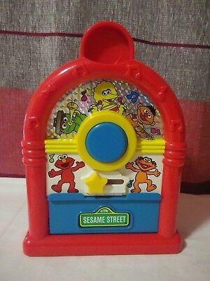 Vintage 1994 Tyco Sesame Street Musical Juke Box Kids Toy - Free Shipping