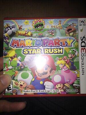 Mario Party: Star Rush (Nintendo 3DS, 2016) New Factory Sealed segunda mano  Embacar hacia Mexico