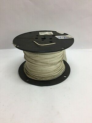 12 Awg 900 Ft. Electrical Wire M810449-12-9 Stranded Primary Wire White