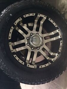 Rims and tires to fit Dodge 2500/3500