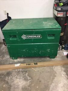 Greenlee jobsite tool box
