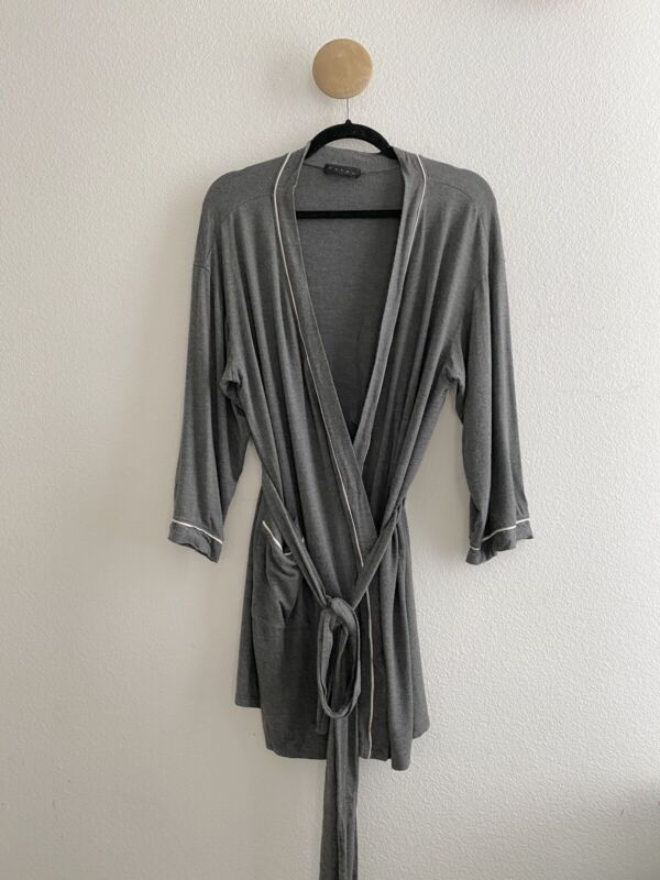 Hatch Maternity Womens Gray Robe