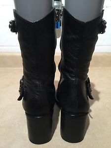 Women's Harley Davidson Leather Boots Size 6.5 London Ontario image 3