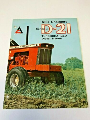Early Allis Chalmers D21 Intro Brochure