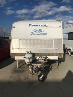24 foot Franklin semi off road caravan Campbelltown Campbelltown Area Preview