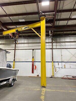 Jib Crane Used 4000 Lb Cap 22 Tall. 18 Span
