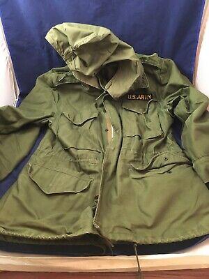 Coat Cold Weather Field M1951 OG107 Olive Drab liner & hood Regular Small Talon
