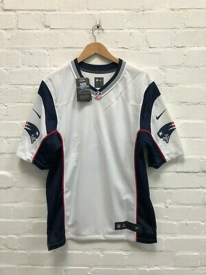 Nike New England Patriots NFL Men's Road Plain Jersey - Small - Brady 12 - NWD