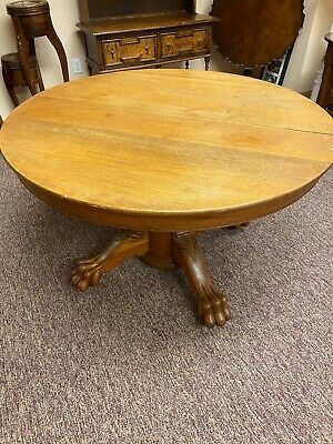 1800 1899 Round Oak Table Vatican