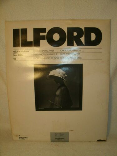 """Ilfordchrome 16 x 20"""" in. photographic paper mgr 44m multigrade RC rapid"""