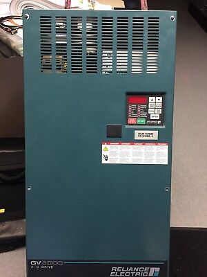 Reliance Electric Vector Drive 75hp Gv3000 Ac106