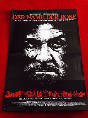 noplakat Poster A1, Sean Connery, Annaud, Perlman, Slater (Name Plakat)
