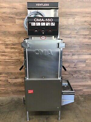 2016 Cma 180-vl Single Rack High Temperature Ventless 3-door Dishwasher 480vph3