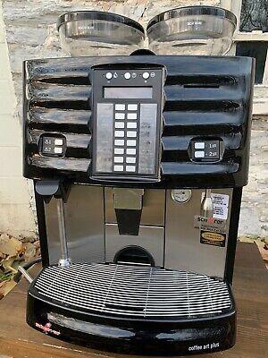 Schaerer Coffee Art Plus Super Automatic Espresso 20 Button Machine