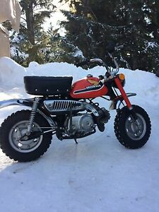 Excellent all original . 1978 Honda Z50