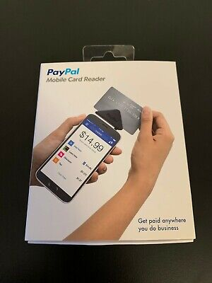 Paypal Mobile Credit Card Reader Swiper Android Windows Ios New Free Shipping