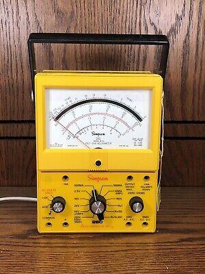 Simpson Analog Multimeter 260 Series 8 Xpi
