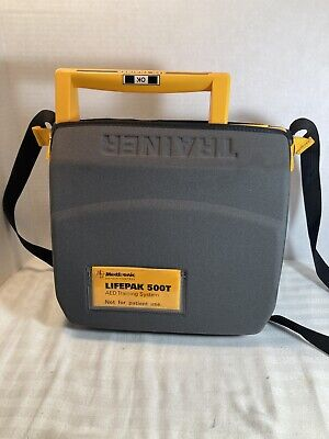 Medtronic Physio-control Lifepak 500t Aed Defibrillator Case Pack 1 Battery