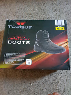 Aldi Torque Motorcycle Boots Size 12