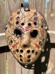 Jason Voorhees cracked Custom-made Mask -high Quality Pvc-